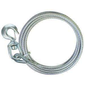 Winch Cables Swivel Hook Steel-Core