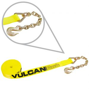 """2"""" Winch Straps with Chain Anchors"""