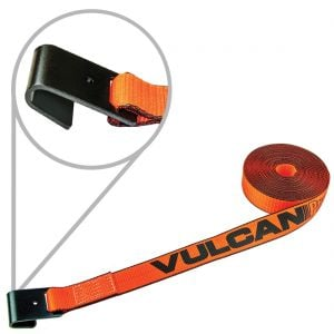 "VULCAN PROSeries 2"" Winch Straps with Flat Hook"