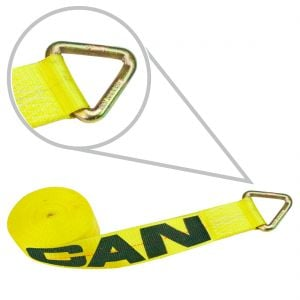 """3"""" Winch Straps with D-Rings"""