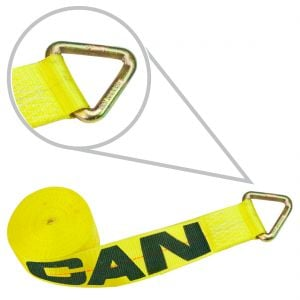 """4"""" Winch Straps with D-Rings"""