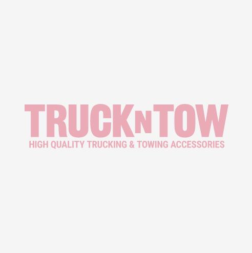 "Truck Mirror 8.5"" Convex, Center Stud, Stainless"