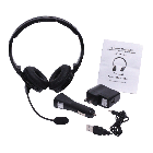Top Dawg Dual Ear Noise Canceling Bluetooth Headset