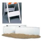 Sand-Filled Bottom Panels for TRAFFIX Barricade - set of 2
