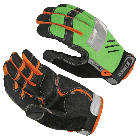 Pro Series Reflector Lime Gloves
