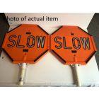 Standard LED Stop/Slow Sign