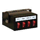 Four Function Illuminated Rocker Switch Box