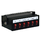 Six Function Illuminated Switch Box