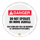 Danger Steering Wheel Covers
