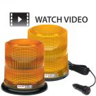 Whelen High Dome 6.5'' LED Amber Beacons