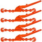 VULCAN Load Binder - Safety Release Lever-Style - 4 Pack - 6,600 Pound Safe Working Load