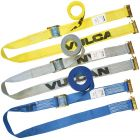 VULCAN Logistic Straps for E-Track - Cam Buckle Style