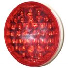 MAXXIMA 4 Inch Round Red LED Light