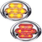 "MAXXIMA 2"" Chrome Marker Lights"