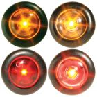 "Ultra-Bright 3/4"" Round Button Lights"