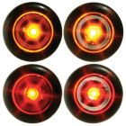 "Ultra-Bright 3/4"" Flat Button Lights"