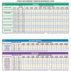 Cargo Securement Laminated Reference Card