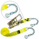 "3"" Ratchet Straps with Chain Anchors"