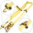VULCAN Classic Series Rolling Idler Basket Strap Tie Down System