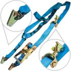 VULCAN Classic Rolling Idler Basket Strap E-Track Tie Downs