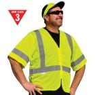 Class 3 Zipper Front Safety Vest