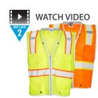 Class 2 Brilliant Series Heavy Duty Vests