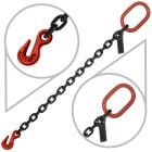 "3/8"" G80 Single Leg Welded Lifting Slings with Grab Hook"