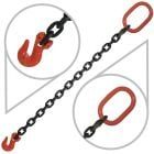 "9/32"" G80 Single Leg Mechanical Lifting Slings with Grab Hook"