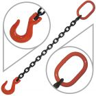 "3/8"" G80 Single Leg Mechanical Lifting Slings with Sling Hook"