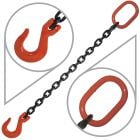 "9/32"" G80 Single Leg Mechanical Lifting Slings with Sling Hook"