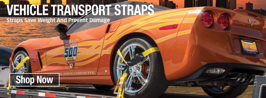 Vehicle transport straps