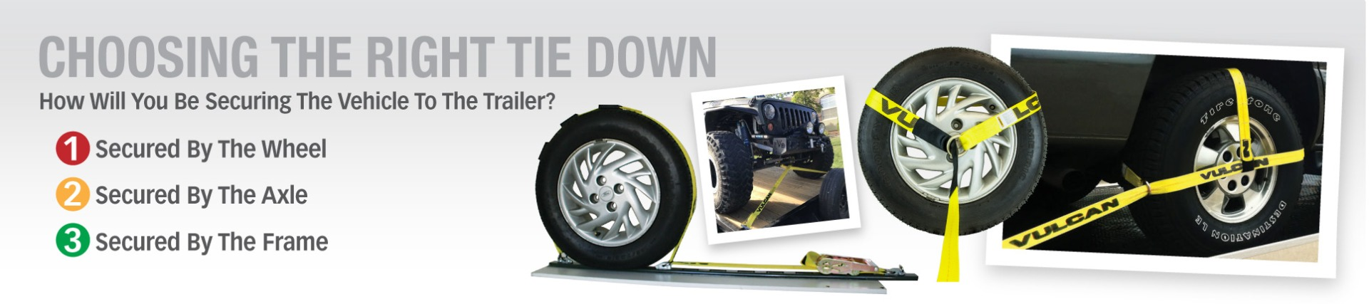 Choose The Right Car Tie Down