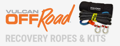 Vulcan off road recovery ropes and kits