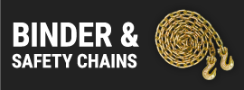 Binder and Safety Chains